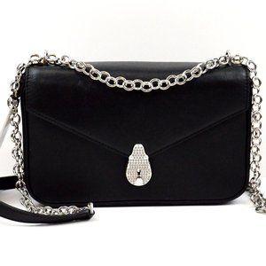 Calvin klein Leather Black Shoulder bag ⛓ strap